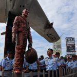 Kasau Resmikan Monumen Pesawat Tempur Mig 17 F Lanud Sultan Hasanuddin