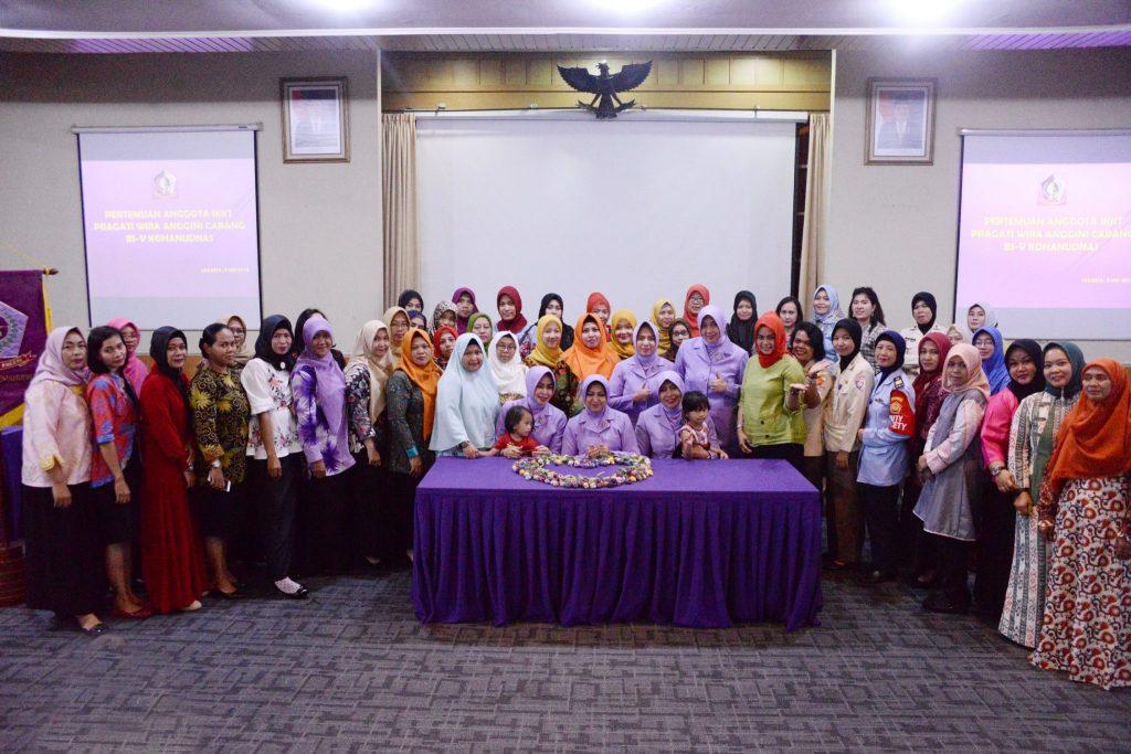 Ceramah Kesehatan Bagi Anggota IKKT Makohanudnas