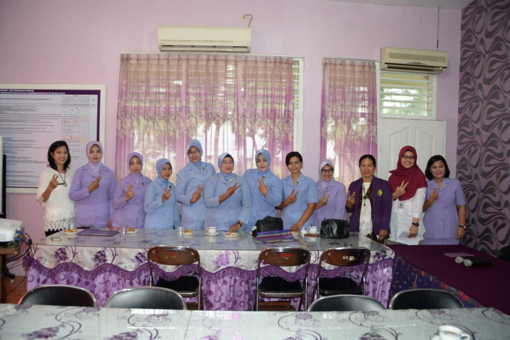 IKKT Pragati Wira Anggini Cabang 04-Kosekhanudnas III Adakan Pelatihan Kader Bina Keluarga Balita (BKB)