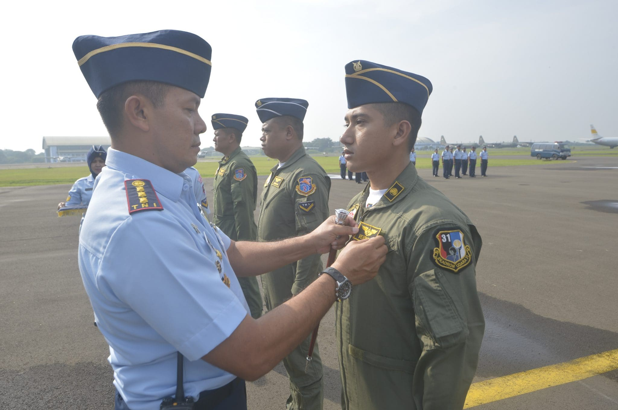 Danwing Udara 1 Lanud Halim Perdanakusuma Tutup Dikkualsus JMU dan LM