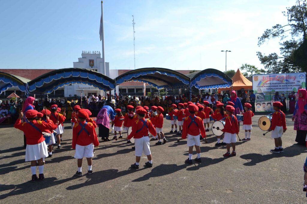 Perpisahan TK se Kota Banjarbaru