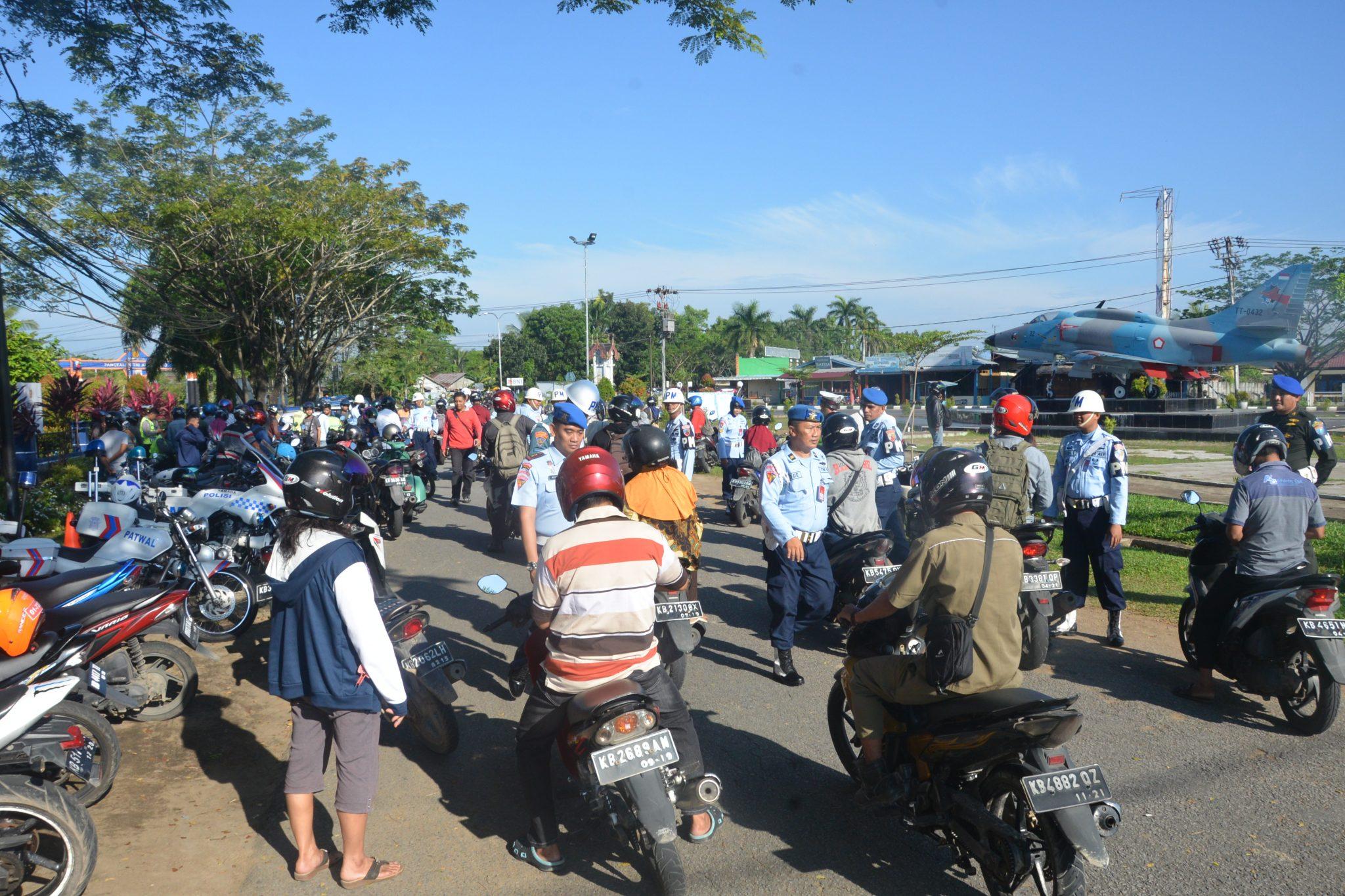 Datsatpomau Lanud Supadio Pimpin Opsgab TNI-Polri 2018 Di Pontianak