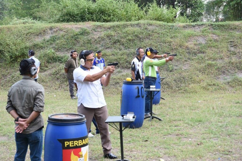 Komandan Lanud Adisutjipto Silaturahmi dengan Jogja Shooting Club