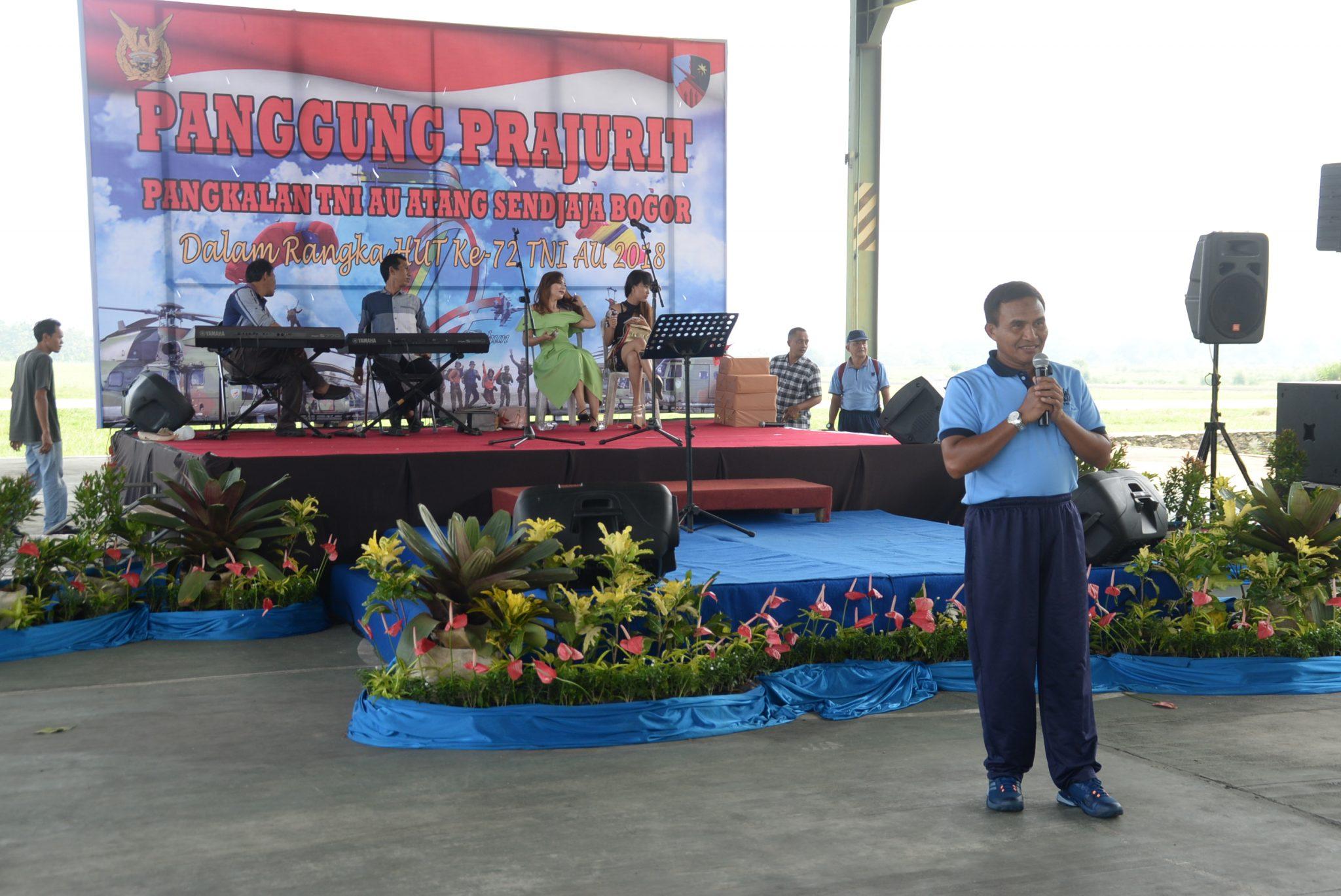 Gelar Panggung Prajurit, Danlanud Ats Apresiasi Kinerja Personel Lanud Ats