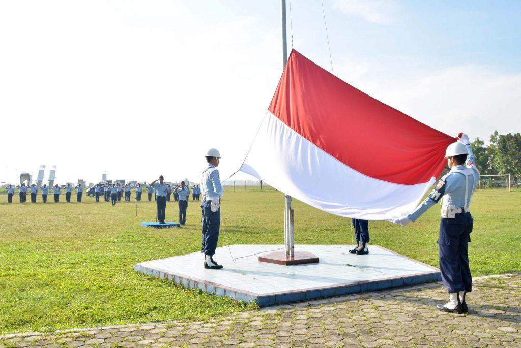 Upacara Hari Kebangkitan Nasional ke-110 Tahun 2018 di Lanud Sjamsudin Noor