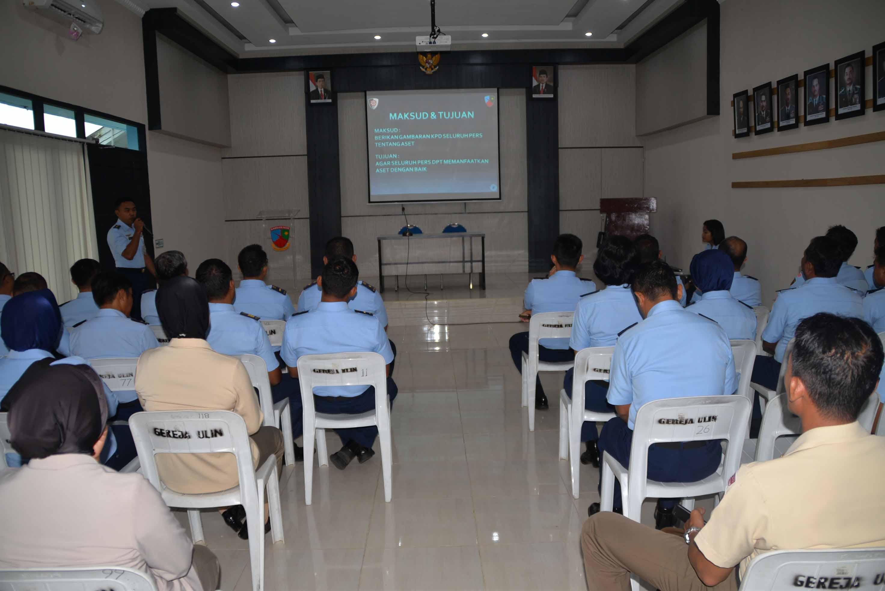 Safety Meeting Lanud Sjamsudin Noor