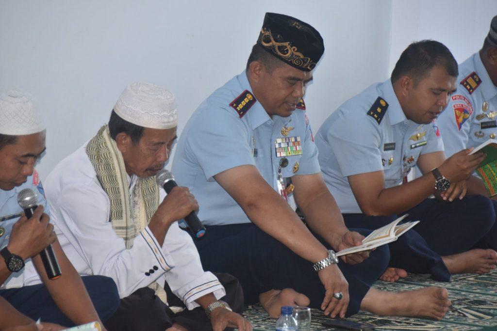 Doa Bersama keluarga besar Lanud Hlo Menyambut Bulan Suci Ramadhan