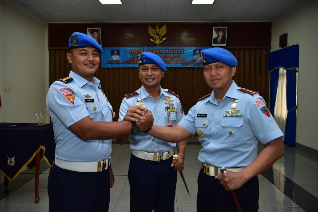 Letkol Pom Andi Sultan Ilyas Jabat Dansatpom Halim Perdanakusuma
