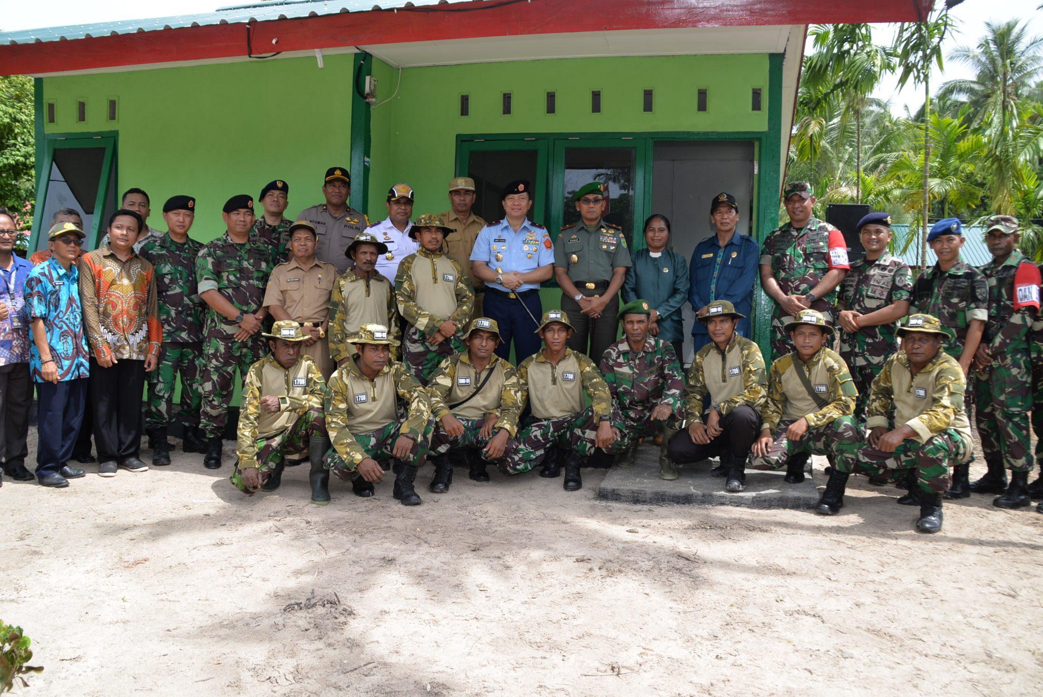 Pangkosekhanudnas IV Tutup kegiatan TMMD ke 101 di Kabupaten Biak