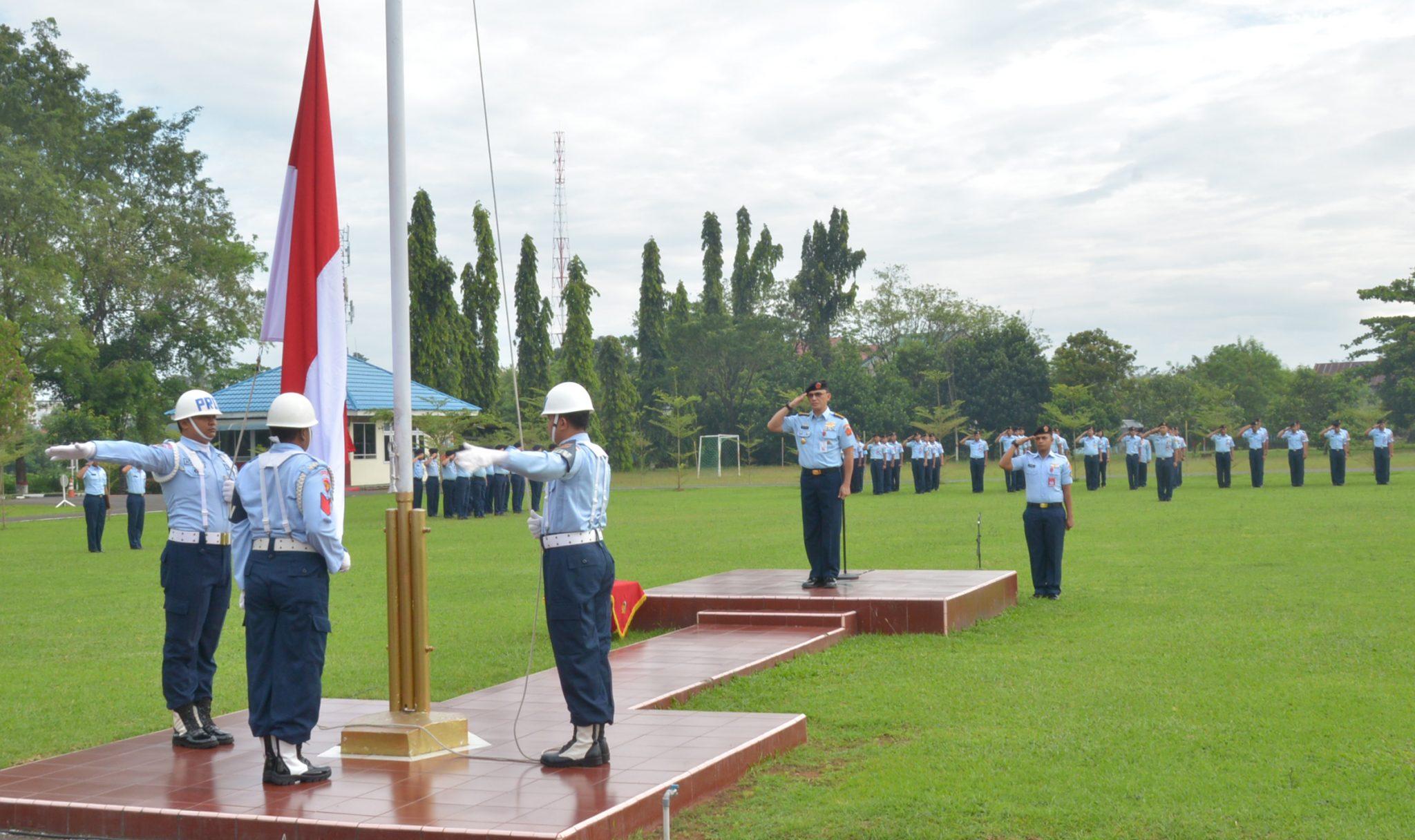 Upacara Peringatan Hari Kebangkitan Nasional di Kosekhanudnas II
