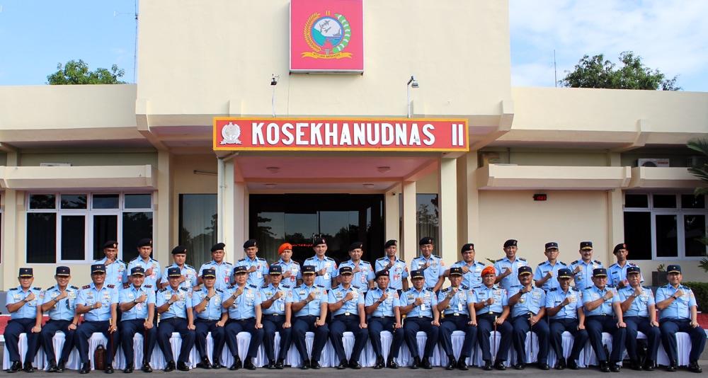 Kasau Kunjungi Kosekhanudnas II Makassar