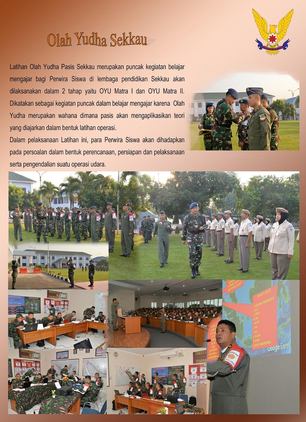 Olah Yudha Pasis Sekkau Angkatan ke-103 TA 2018