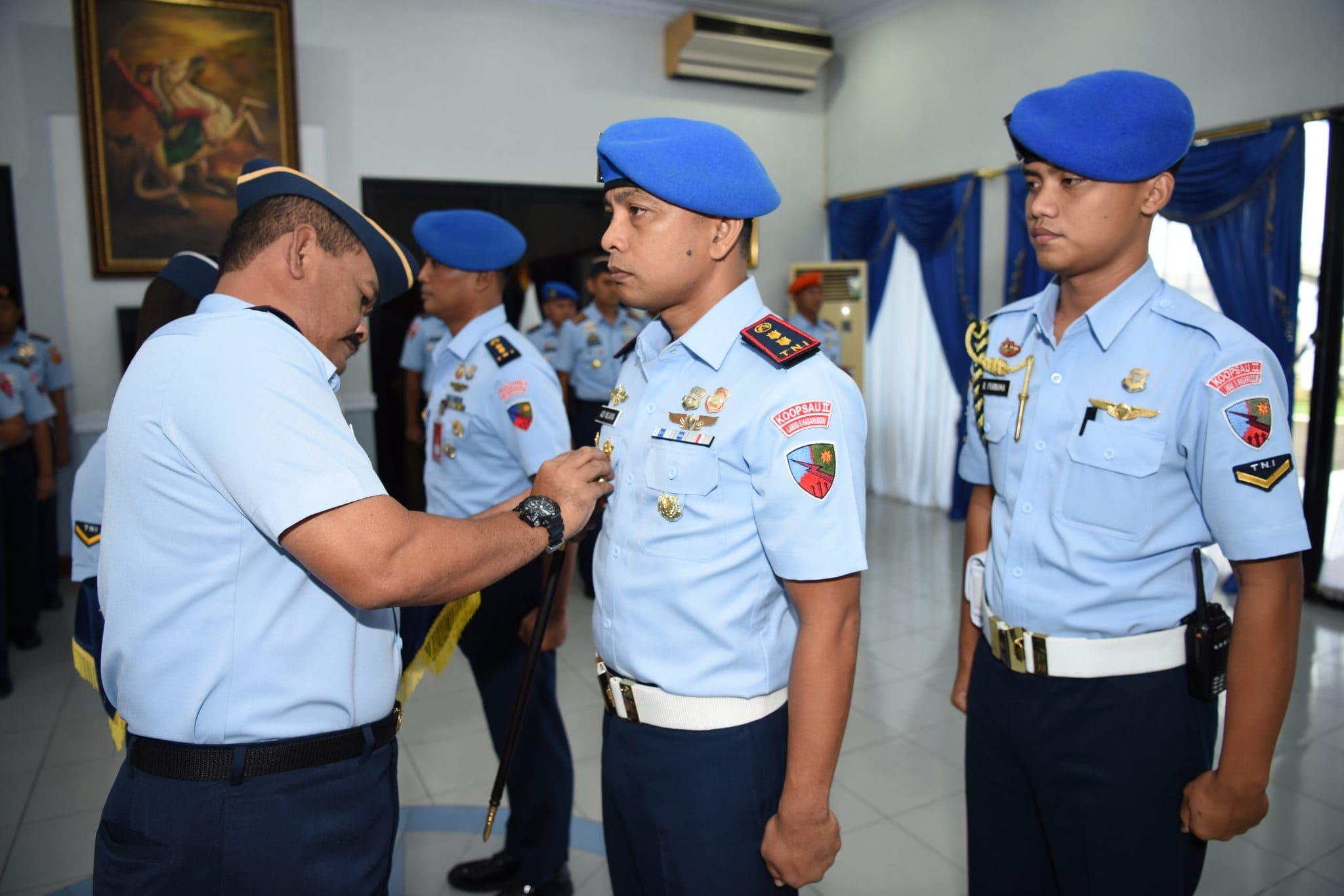 Letkol Pom Adi Wijaya Jabat Dansatpom Lanud Sultan Hasanuddin