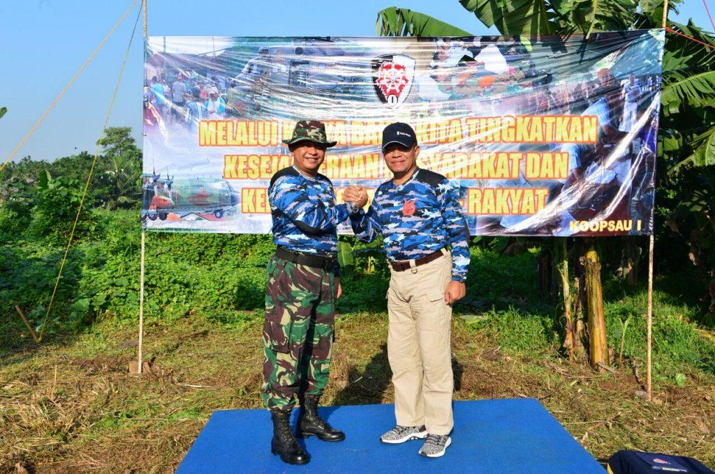 Pangkoopsau I : Karya Bakti Perkokoh Kemanunggalan TNI AU-Rakyat