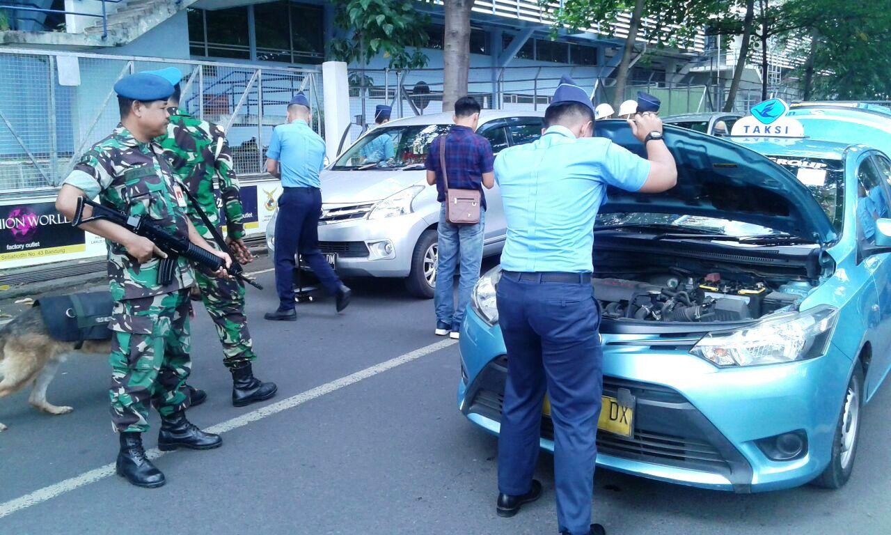 Pasca Bom Jatim, Pengamanan Bandara Husein Sastranegara Di Perketat