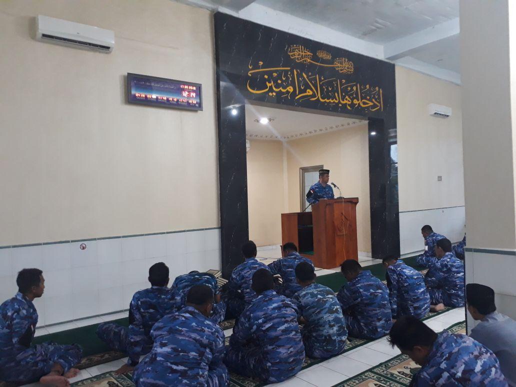 Ibadah Bersama Prajurit Lanud Hlo Dibulan Ramadhan