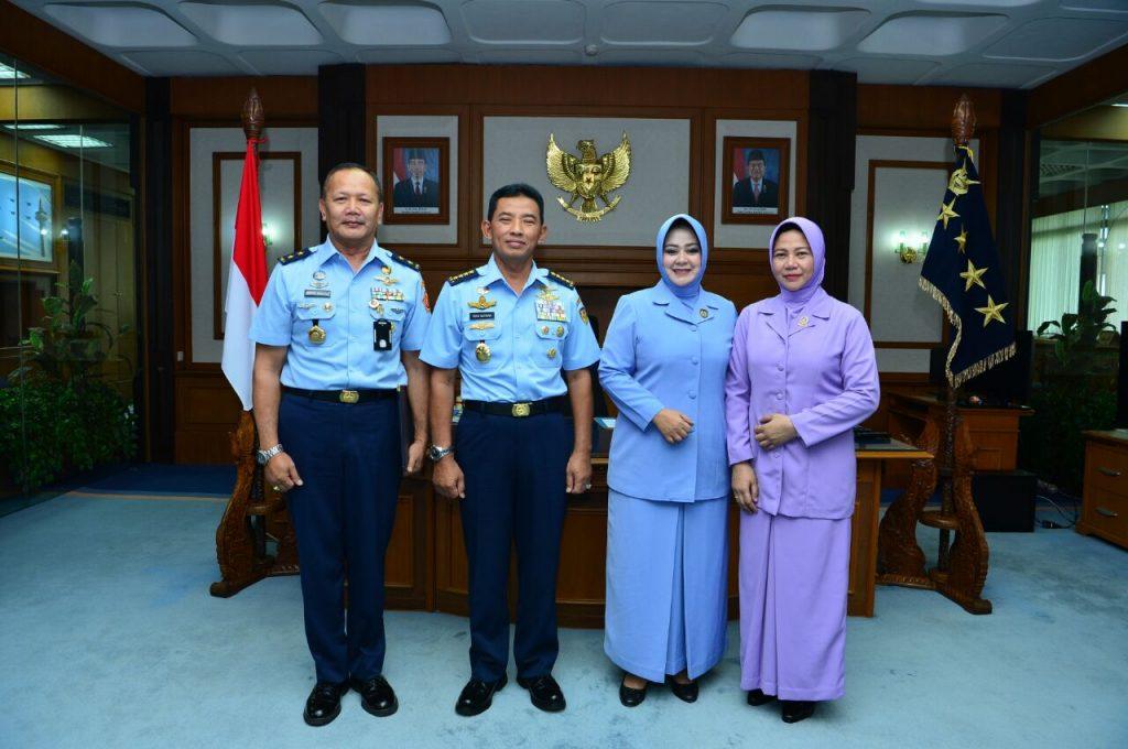 7 Pati TNI AU Naik Pangkat