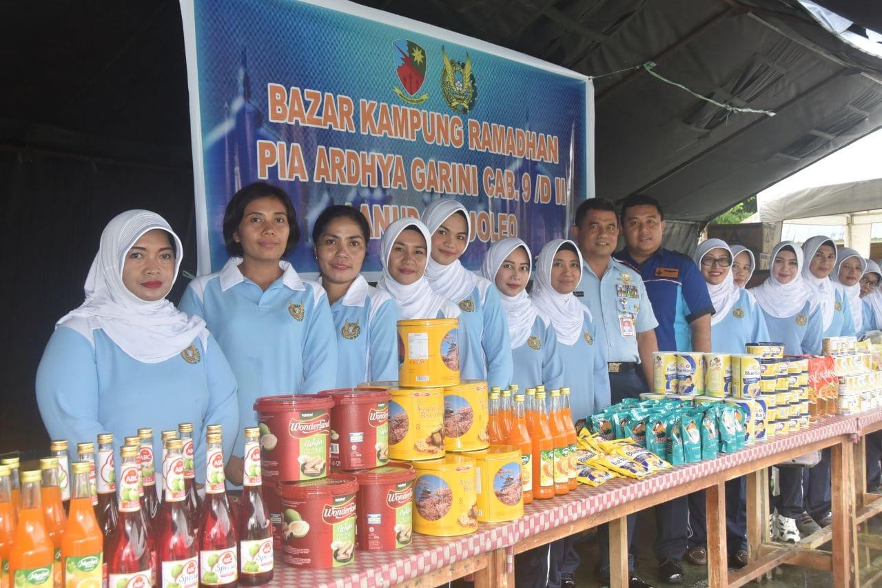 Bazar Kampung Ramadhan Di Lanud Haluoleo Kendari