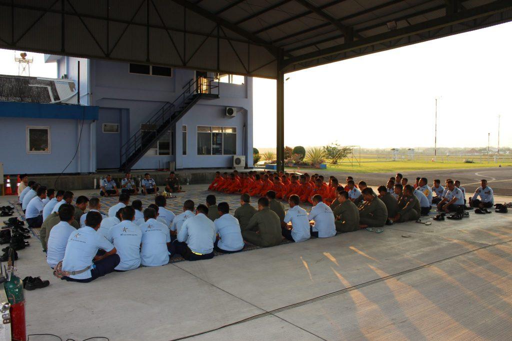 Danlanud Adisutjipto Buka Latihan Terbang Malam Sekbang 95