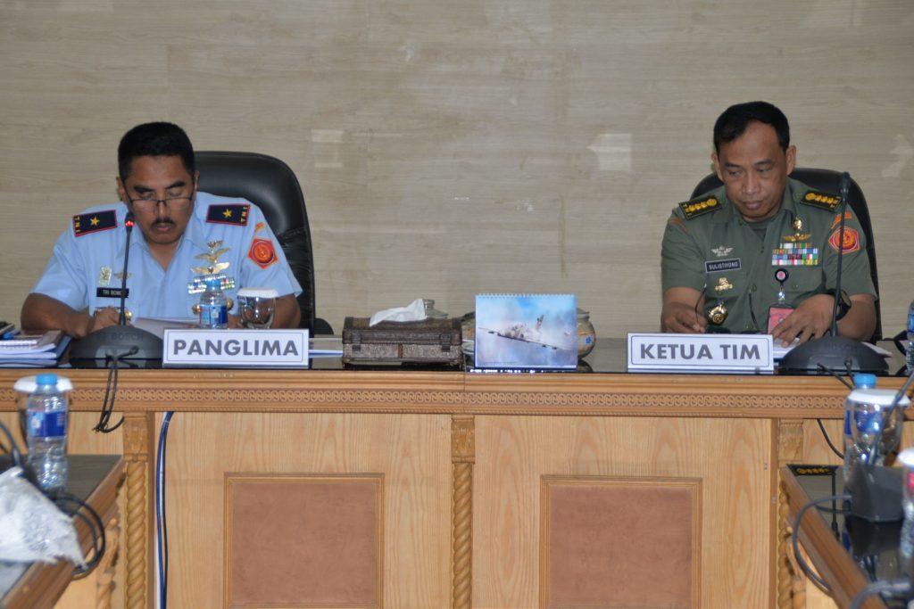 Pengawasan Dan Pemeriksaan Itjen TNI Di Kosekhanudnas III