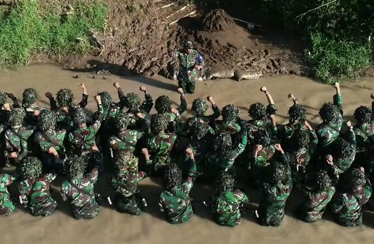"""Batalyon Komando 461 Paskhas Aplikasikan Hasil Latihan """"Cakra Yudha"""" Dalam Menghadapi Tantangan Tugas"""