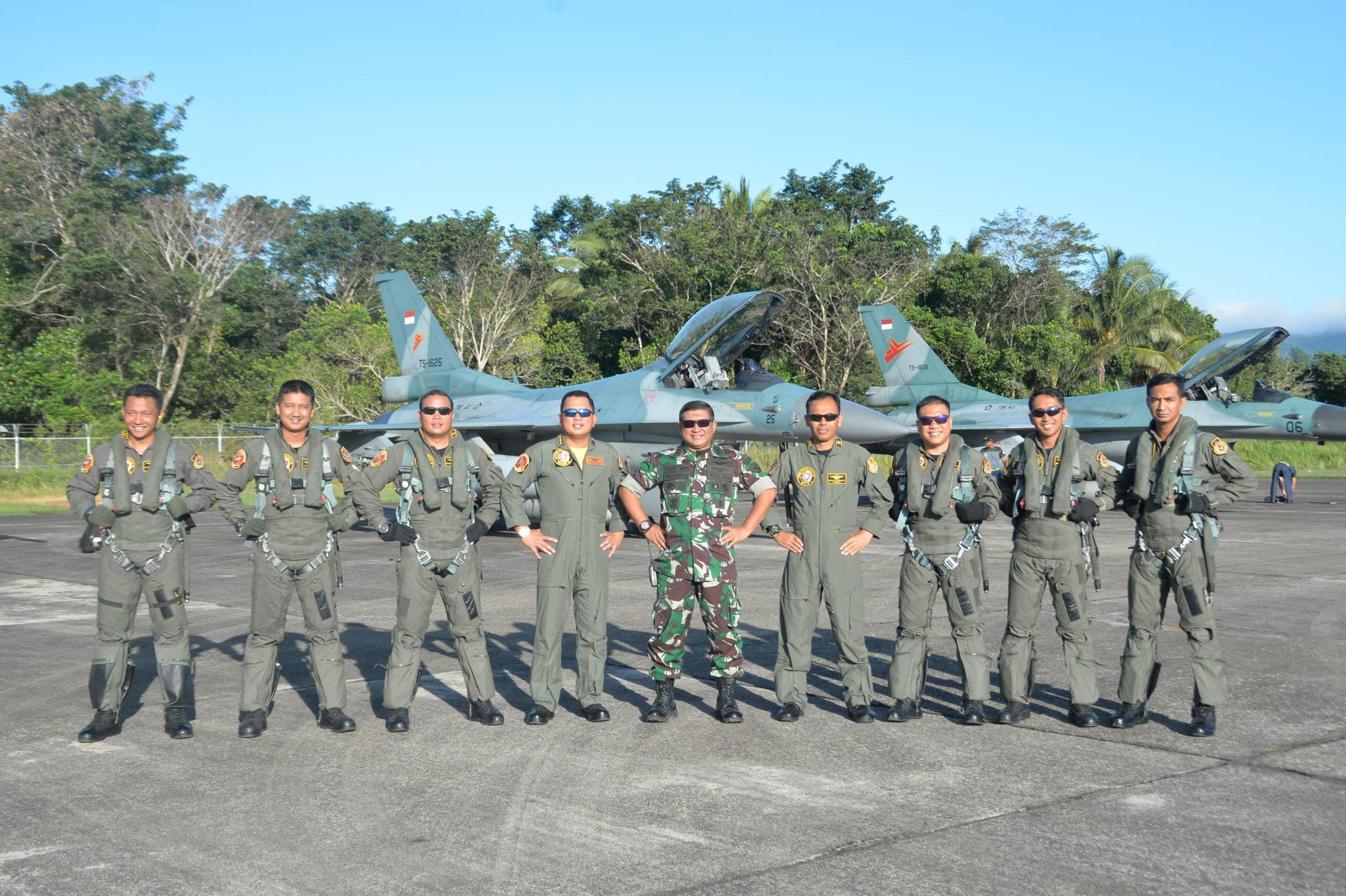 Lanud Pattimura Menjadi Satuan Pendukung SATGASUD Latihan PPRC TNI 2018