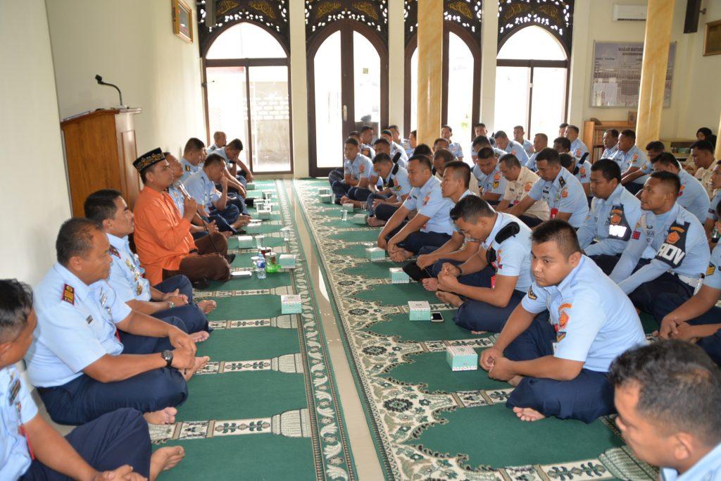 Kegiatan Agama di Kosekhanudnas III Bahagia Menyambut Ramadhan