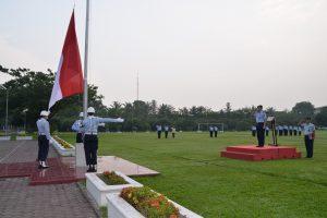 Upacara Mingguan di Makosekhanudnas III