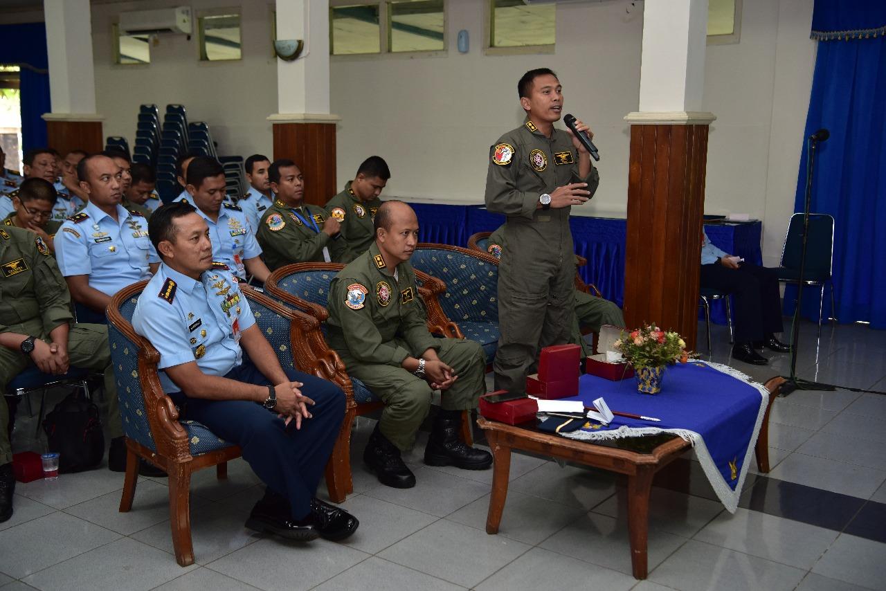 Air Crew Lanud Halim Perdanakusuma Ikuti Ceramah Kesehatan