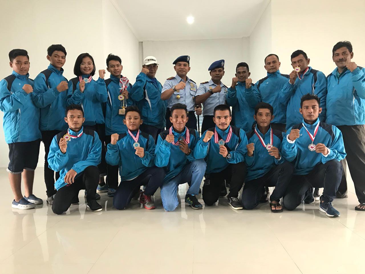 Petinju Binaan Lanud Ash Sabet 9 Medali