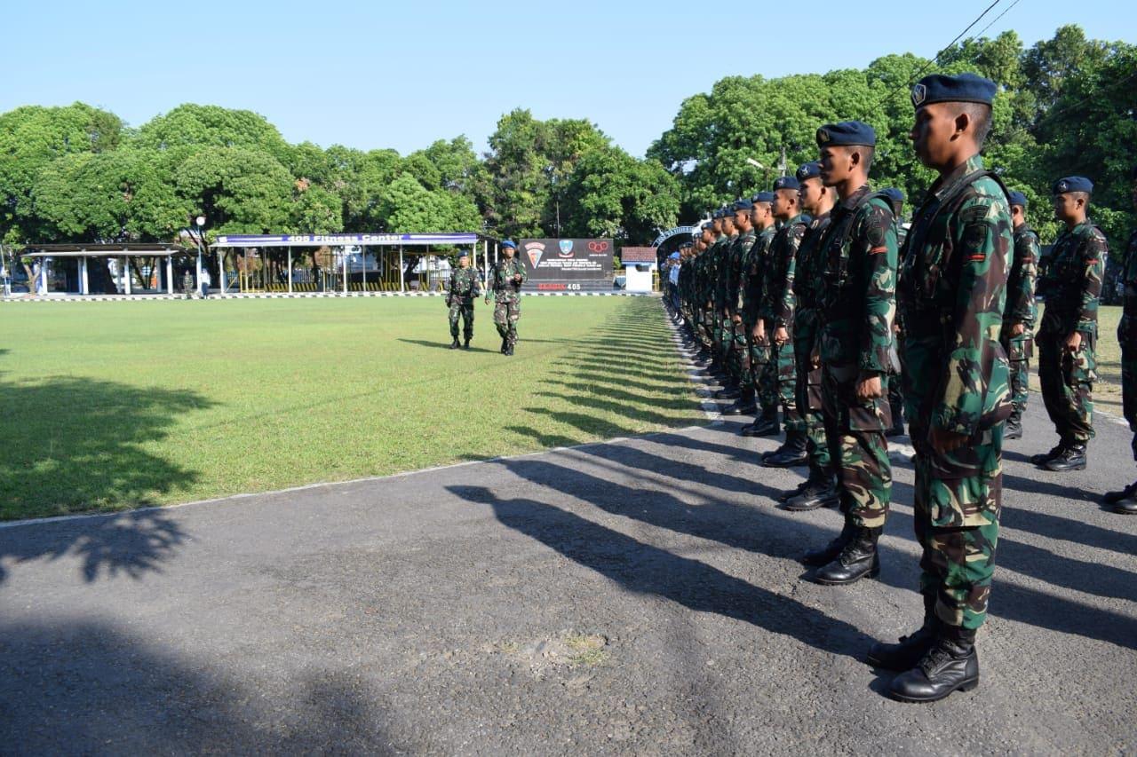 Pembukaan Latihan Praktis Siswa Susba Hartib Angkatan Ke-17