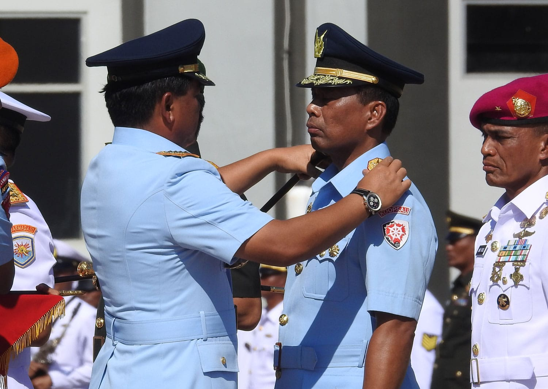 Marsma TNI Tamsil Gustari Malik Jabat Pangkoopsau III
