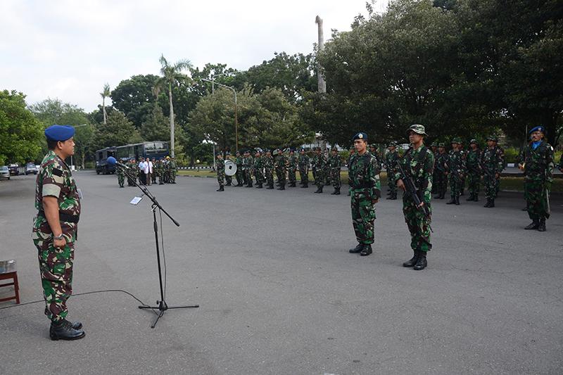 Tingkatkan Skill Prajurit dalam Pengamanan Pangkalan, Lanud Adisutjipto Gelar Latihan Hanlan