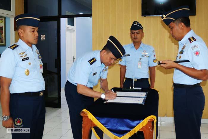 Letkol Adm Akhmad Peradiansyah, S.Sos.,M.M Jabat Kadisopsdik Wingdikum