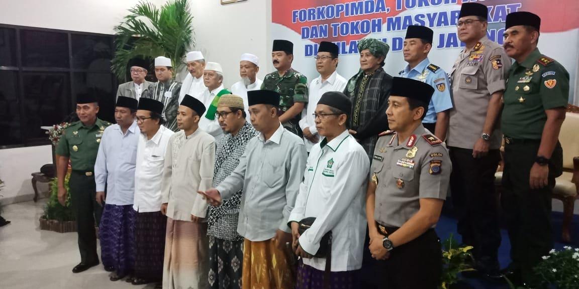 Denhanud 474 Paskhas Mengikuti Safari Ramadan Panglima TNI