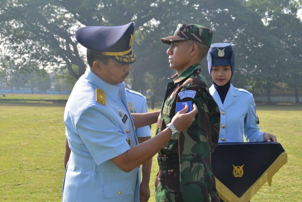 Dirdiklat Kodiklatau Buka Pendidikan Tamtama PK TNI AU Angkatan Ke-75