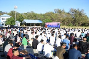 Ribuan Masyarakat Kupang Datangi Lanud El Tari di Hari Kemenangan