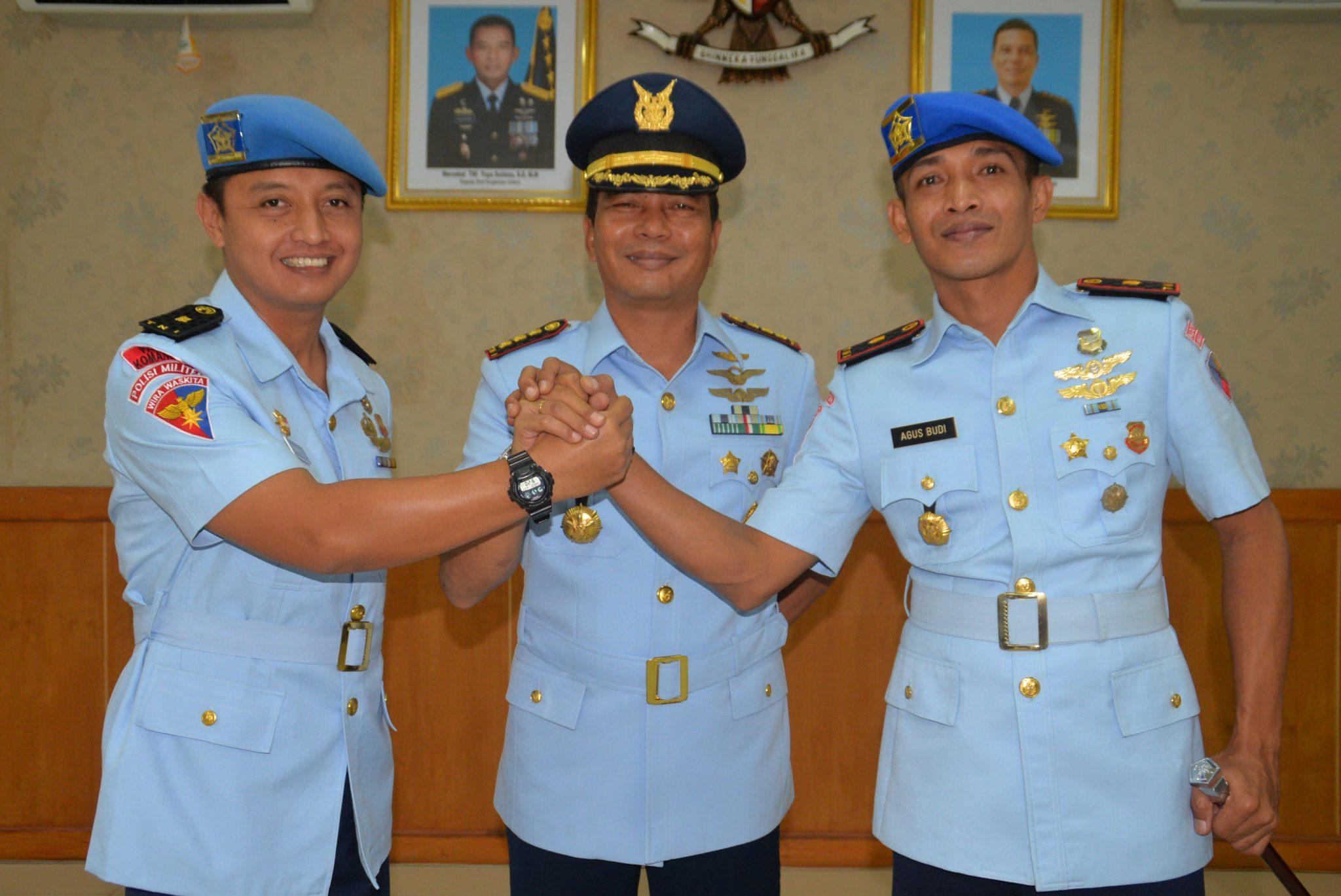 Mayor Pom Agus Budi Hariyono Jabat Dansatpom Lanud Ngurah Rai
