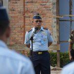 Danlanud Raja Haji Fisabilillah Pimpin Apel Khusus Jelang Cuti Lebaran 2018