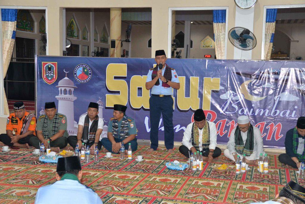 Sahur Bersama Gubernur Kalimantan Selatan Di Lanud Sjamsudin Noor