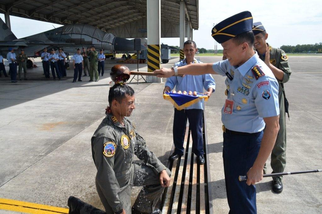 Lettu Pnb Agyd Hertantya Berhasil Terbang Solo Dengan Pesawat Sukhoi
