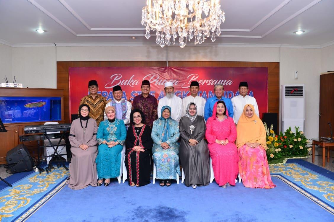 Buka Puasa Bersama Sesepuh TNI AU, Kasau Mohon Bimbingan dan Masukan Para Senior