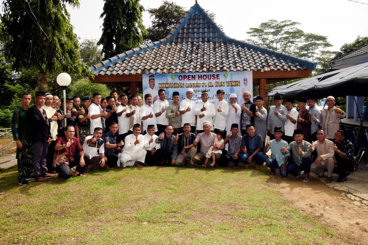 Danlanud Pangeran M. Bun Yamin Menyelenggarakan Open House Idul Fitri 1439 H/2018 M