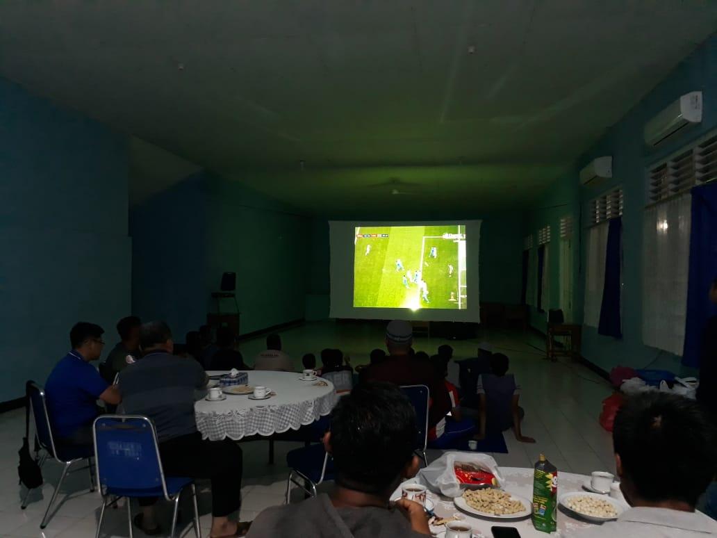 Nonton Bareng Piala Dunia 2018 Lanud Haluoleo