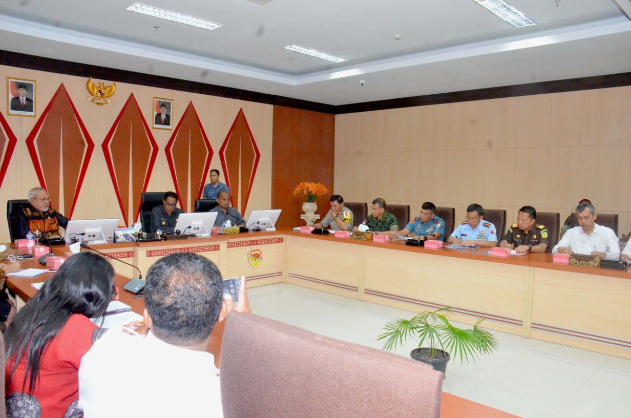 Kunjungan Kerja Komite 1 DPD RI Dalam Rangka Pengawasan Pelaksanaan Pilkada 2018