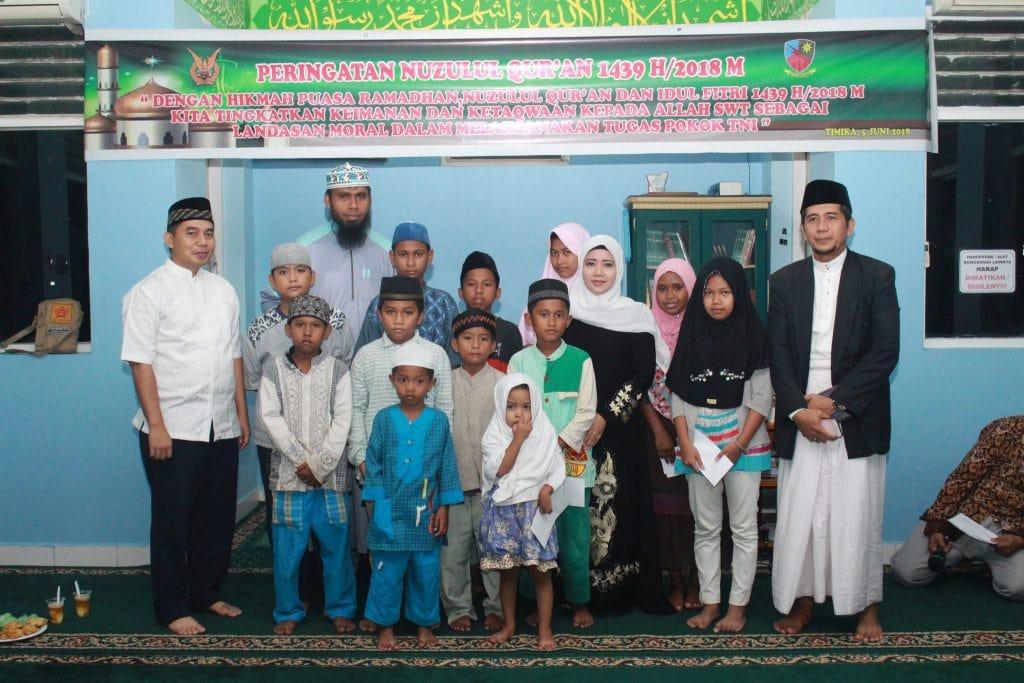 Peringatan Nuzulul Qur'an di Lanud Timika