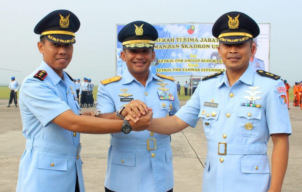 Letkol Pnb Yanwar Effendhi Jabat Danskadron Udara 7