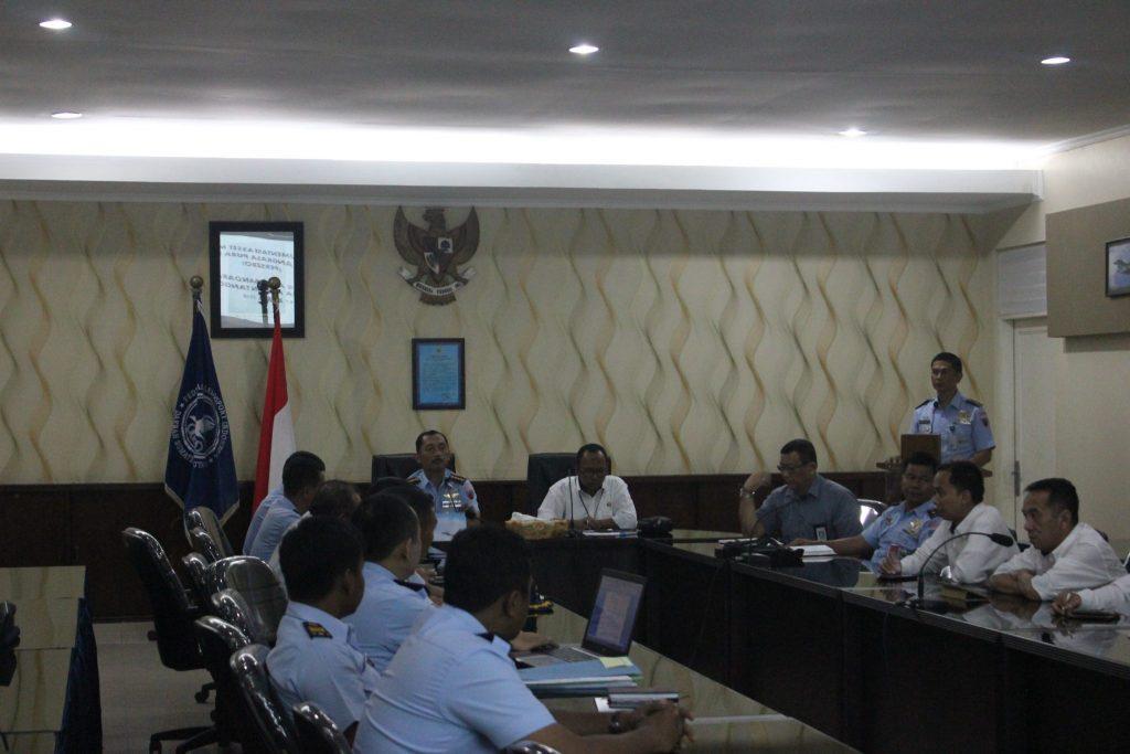 Rapat Verifikasi Aset PT Angkasa Pura II Eks Bandara Polonia Di Lanud Soewondo Medan