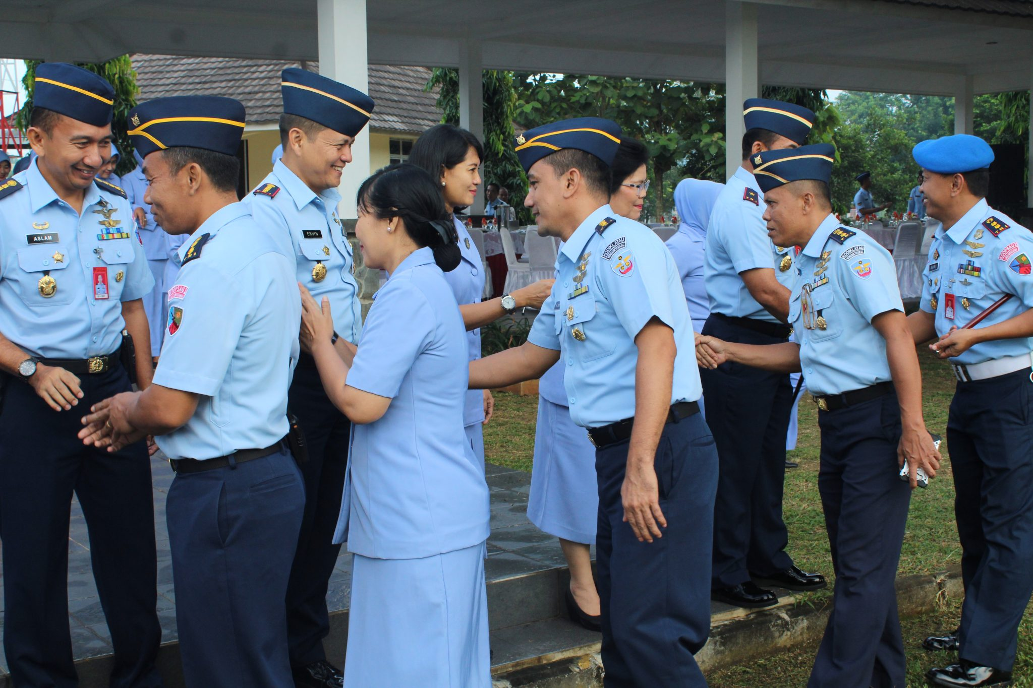Personel Wingdiktekkal Gelar Apel Khusus Gabungan Bersama Lanud Suryadarma Usai Cuti Idul Fitri 14.39 H