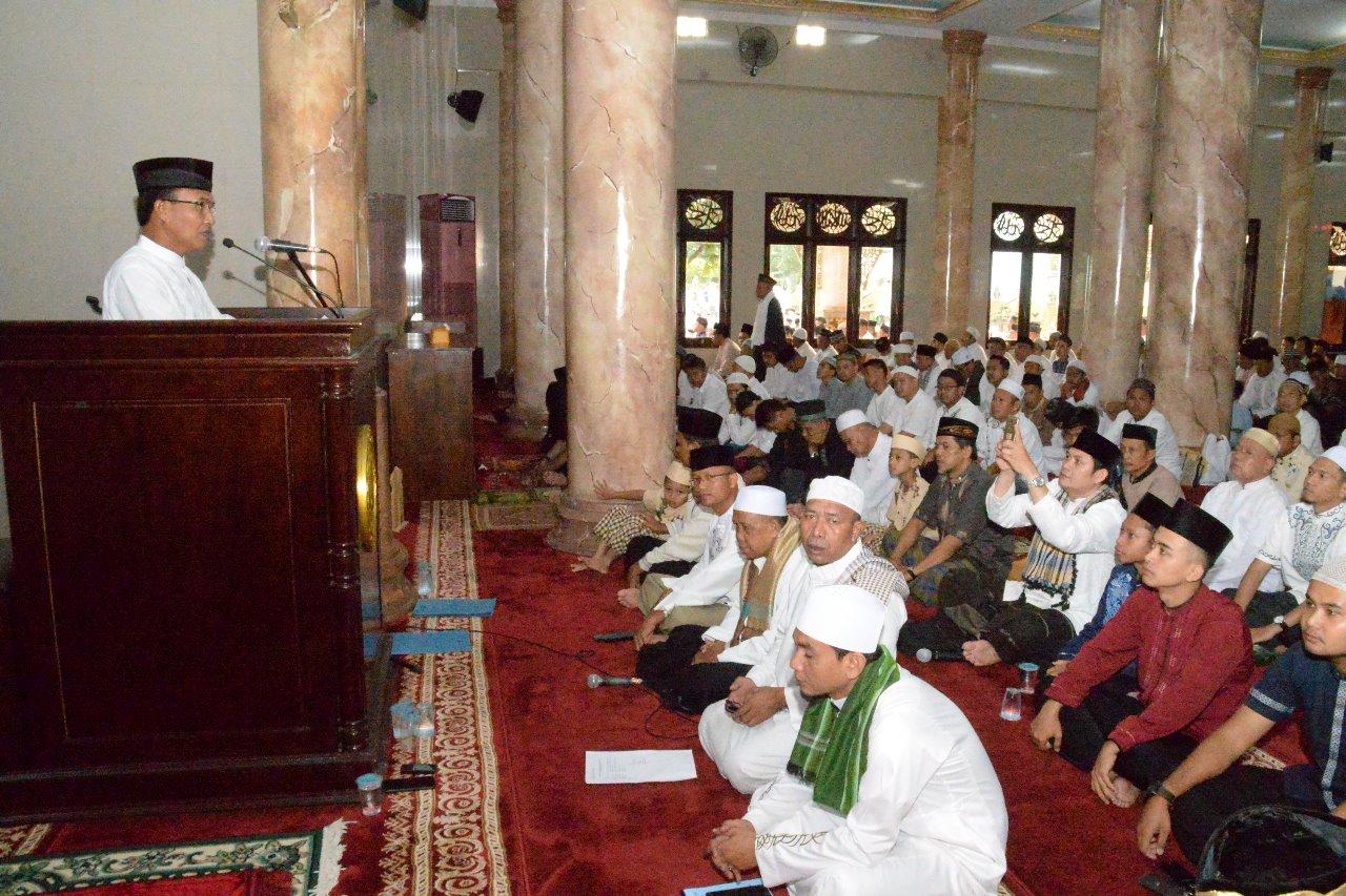 """Danlanud Ats: """"Selamat hari raya Idul Fitri 1439 Hijriyah"""""""